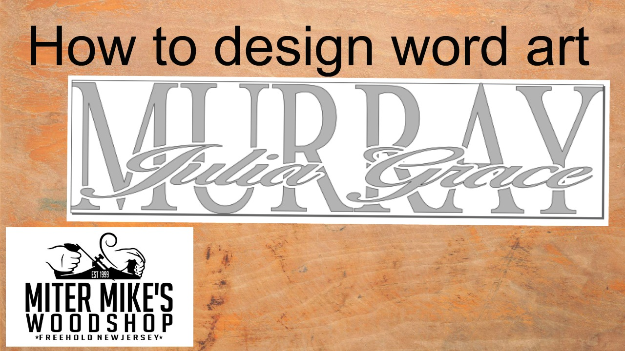 How to design word art in Inkscape